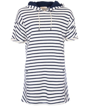 Women's Barbour Dive Dress - Navy / Cloud