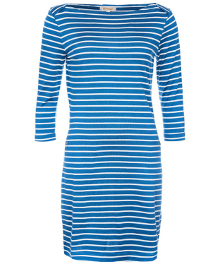 Women's Barbour Wharf Dress - Beachcomber / Cloud