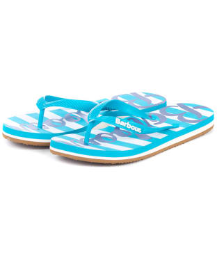 Women's Barbour Beachcomber Logo Flip Flops