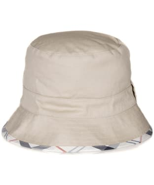 Women's Barbour Langton Reversible Hat - Cream