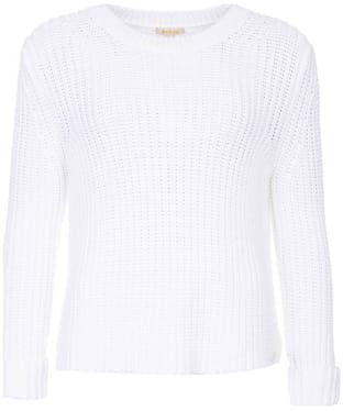 Women's Barbour Clove Hitch Sweater - White