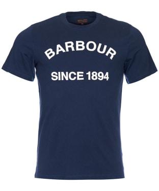 Men's Barbour Tiverton Tee - Navy