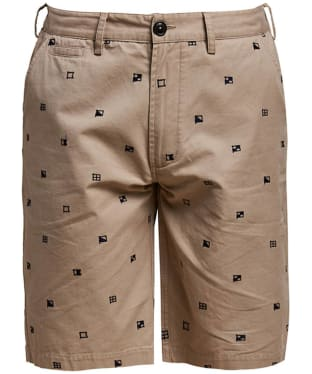 Men's Barbour Flags Shorts - Stone