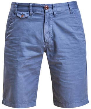 Men's Barbour Neuston Twill Shorts - Dark Chambray