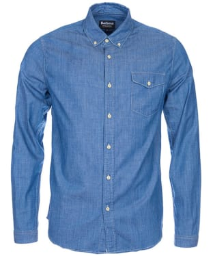 Men's Barbour International Speedrome Shirt - Rinse
