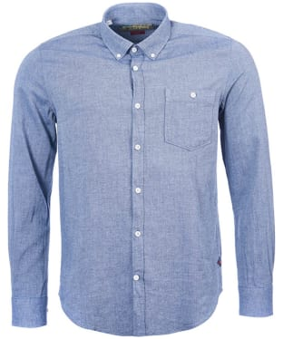 Men's Barbour Steve McQueen Terence Shirt - Navy