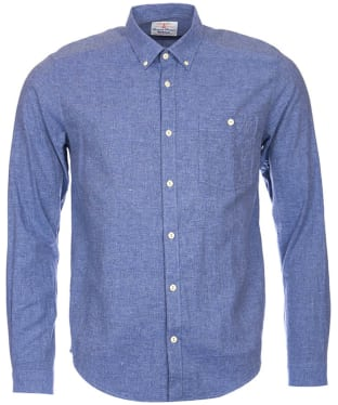 Men's Barbour Brian Shirt - Indigo