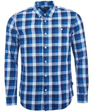 Men's Barbour International Hutchinson Shirt - Indigo Check