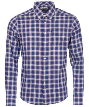 Men's Barbour Warren Check Shirt - Navy Check