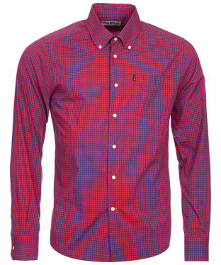 Men's Barbour Leonard Tailored Fit Shirt - Rich Red