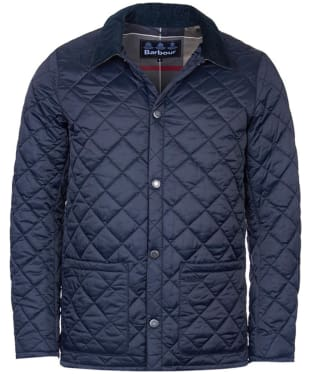 Men's Barbour Pembroke Quilted Jacket - Navy