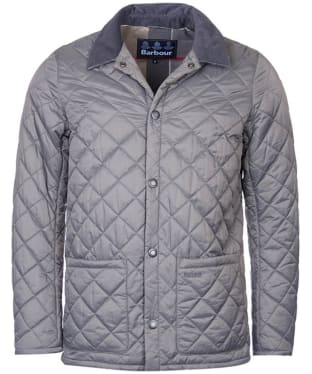 Men's Barbour Pembroke Quilted Jacket - Grey