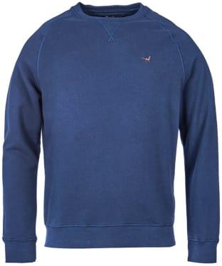 Men's Barbour Simms Crew Neck Sweater - Navy