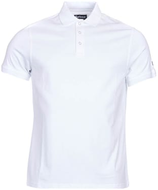 Men's Barbour International Lydden Polo Shirt - White