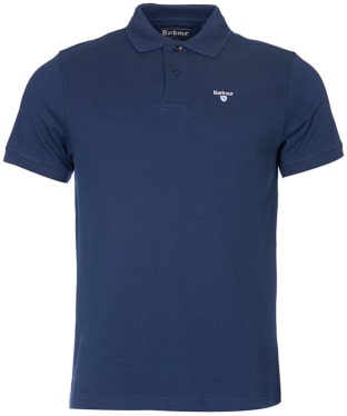 Men's Barbour Sports Polo 215G - New Navy