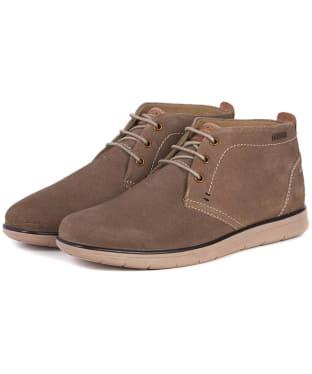 Men's Barbour Bowlam Shoes - Sand Suede