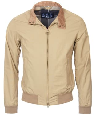 Men's Barbour Royston Casual Jacket - Light Sand