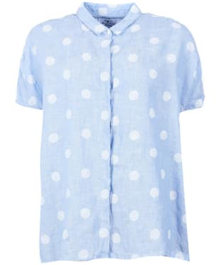 Women's Barbour Short Sleeved Polka Dot Shirt