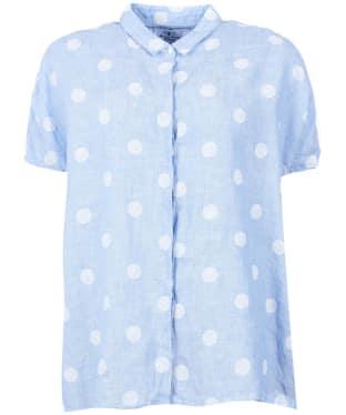Women's Barbour Short Sleeved Polka Dot Shirt