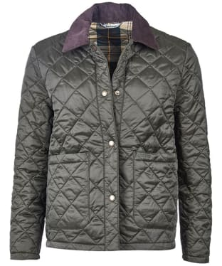 Women's Barbour Summer Cropped Border Quilted Jacket