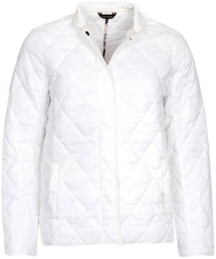 Women's Barbour Rae Loch Quilted Jacket - Cloud