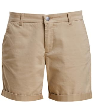 Women's Barbour Essential Shorts - Stone