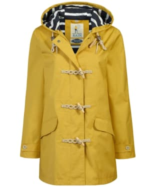 Women's Seasalt Long Seafolly Waterproof Jacket - Mustard