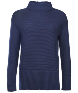 Women's Barbour International Hoppe Knit - Navy