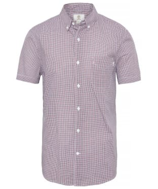 Men's Timberland Suncook River Gingham Shirt - Rosewood