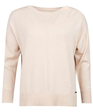 Women's Barbour Hawthorn Knit Sweater - Stone