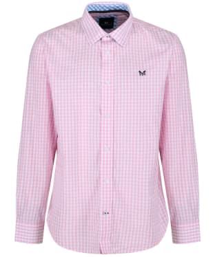 Men's Crew Clothing Classic Gingham Shirt - Classic Pink