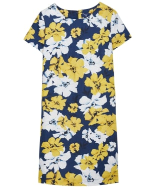 Women's GANT Floral A-line Dress - Marine