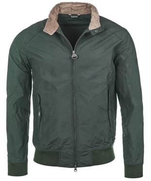 Men's Barbour Steve McQueen Rectifier Harrington Casual Jacket - Sage