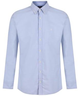 Men's Hackett Oxford Slim Shirt - Sky
