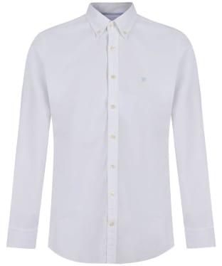 Men's Hackett Oxford Slim Shirt - White