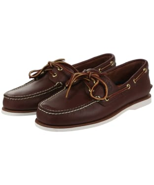 Men's Timberland Icon Classic 2 Eye Shoes - Dark Brown
