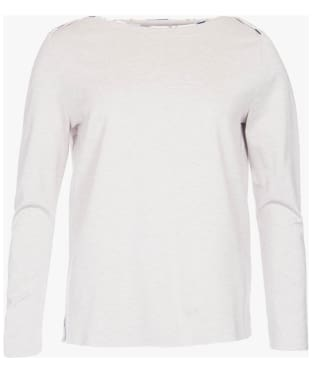 Women's Barbour Kelty Top - Alabaster Marl