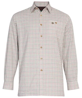 Men's Alan Paine Bury Fleece Lined Shirt - Country Check 2