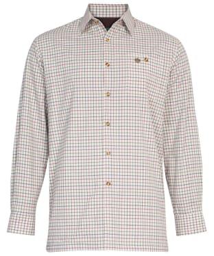 Men's Alan Paine Bury Fleece Lined Shirt - Country Check 2