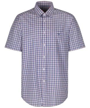 Men's R.M. Williams Hervey Checked Shirt - Pink / Blue