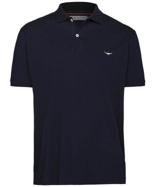 Men's R.M. Williams Classic Rod Polo Shirt - Navy