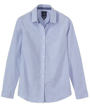 Women's Crew Clothing Oxford Shirt - Classic Blue