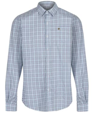 Men's Dubarry Ballincollig Long Sleeve Shirt - Teal Multi