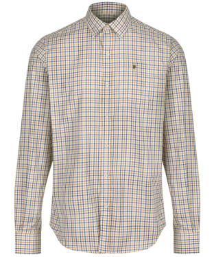 Men's Dubarry Ballincollig Long Sleeve Shirt - Gold Multi