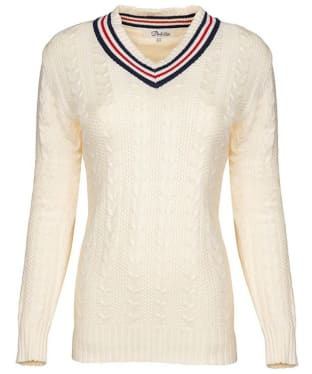 Women's Dubarry Clonbur Sweater - Sail White