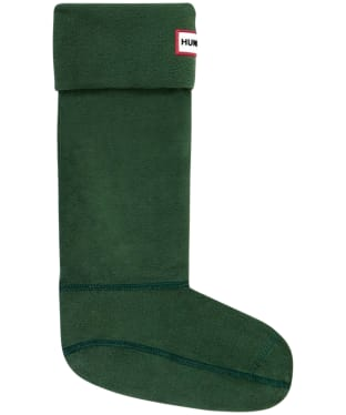 Hunter Fleece Welly Socks Adult - Hunter Green