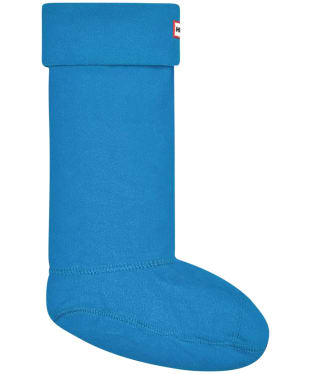 Hunter Fleece Welly Socks Adult - Ocean Blue