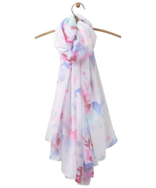Women's Joules Harmony Scarf - Bright White Floral