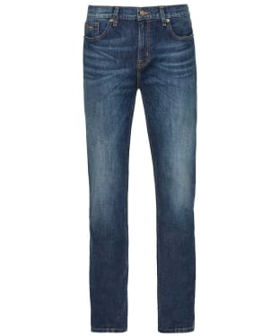 Men's R.M. Williams Ramco Stretch Denim Jeans - Regular Fit - Straight Leg - Medium Wash