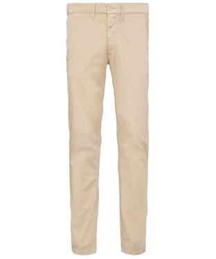 Men's Timberland Sargent Lake Washed Lightweight Sateen Slim Chinos - British Khaki
